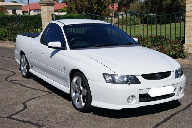 Used Holden Commodore VY II SS Blair Athol, 2004 Holden Commodore VY II SS White 4 Speed Automatic Utility
