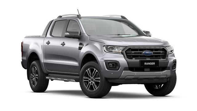 New Ford Ranger PX MkIII 2021.75MY Wildtrak Rutherford, 2021 Ford Ranger PX MkIII 2021.75MY Wildtrak Aluminium Silver 6 Speed Sports Automatic