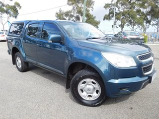 2016 Holden Colorado RG MY16 LS Crew Cab Blue 6 Speed Sports Automatic Utility.