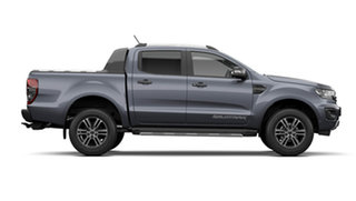 2021 Ford Ranger PX MkIII 2021.75MY Wildtrak Meteor Grey 6 Speed Sports Automatic Double Cab Pick Up.