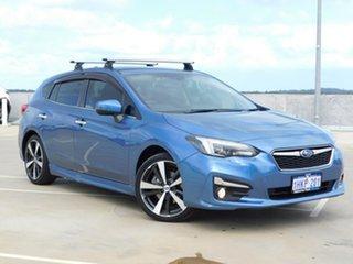 2017 Subaru Impreza G5 MY18 2.0i-S CVT AWD Blue 7 Speed Constant Variable Hatchback.