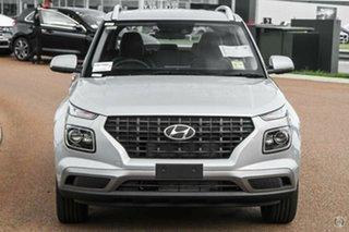 2021 Hyundai Venue Qx.v4 MY22 Elite Typhoon Silver 6 Speed Automatic Wagon.