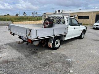 1998 Mitsubishi Triton MK GLX White 5 Speed Manual Club Cab Utility