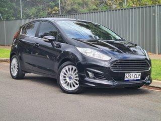 2014 Ford Fiesta WZ Sport Black 5 Speed Manual Hatchback.