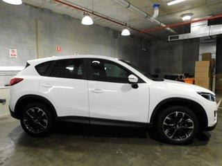 2014 Mazda CX-5 KE1032 Grand Touring SKYACTIV-Drive AWD White 6 Speed Sports Automatic Wagon