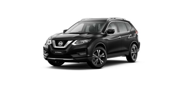New Nissan X-Trail T32 MY21 ST-L X-tronic 2WD Moorooka, 2021 Nissan X-Trail T32 MY21 ST-L X-tronic 2WD Diamond Black 7 Speed Constant Variable Wagon