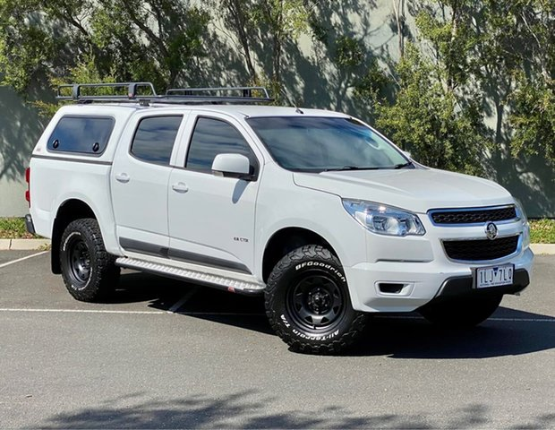Used Holden Colorado RG MY14 LX Crew Cab 4x2 Thomastown, 2014 Holden Colorado RG MY14 LX Crew Cab 4x2 White 6 Speed Sports Automatic Utility