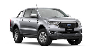 2021 Ford Ranger PX MkIII 2021.75MY XLT Aluminium Silver 10 Speed Sports Automatic.