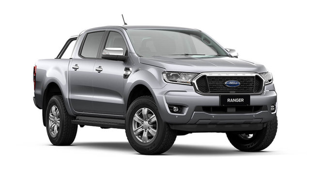New Ford Ranger PX MkIII 2021.75MY XLT Rutherford, 2021 Ford Ranger PX MkIII 2021.75MY XLT Aluminium Silver 10 Speed Sports Automatic