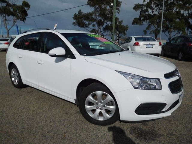 Used Holden Cruze JH Series II MY16 CD Sportwagon Wangara, 2016 Holden Cruze JH Series II MY16 CD Sportwagon White 6 Speed Sports Automatic Wagon