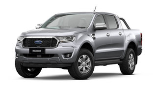 2021 Ford Ranger PX MkIII 2021.75MY XLT Aluminium Silver 10 Speed Sports Automatic