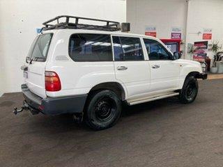 1998 Toyota Landcruiser HZJ80R Standard White 5 Speed Manual Wagon.