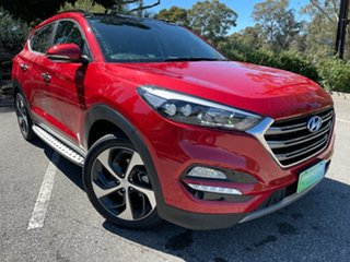 2016 Hyundai Tucson TLe MY17 Highlander D-CT AWD Ultimate Red 7 Speed Sports Automatic Dual Clutch.