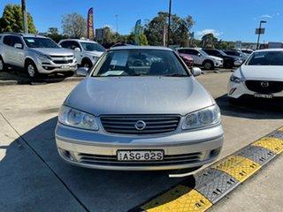 2004 Nissan Pulsar N16 S2 ST-L Silver 4 Speed Automatic Sedan.