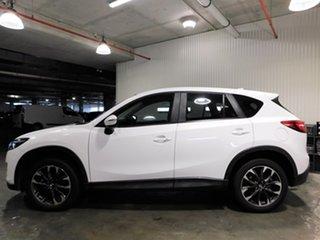 2014 Mazda CX-5 KE1032 Grand Touring SKYACTIV-Drive AWD White 6 Speed Sports Automatic Wagon.