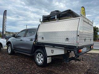 2018 Mitsubishi Triton MR MY19 GLX+ Double Cab Grey 6 Speed Manual Utility.