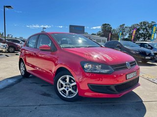 2013 Volkswagen Polo 6R MY13.5 77TSI DSG Comfortline Red 7 Speed Sports Automatic Dual Clutch.
