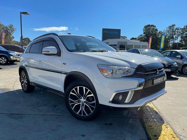 Used Mitsubishi ASX XC MY17 LS 2WD Glendale, 2017 Mitsubishi ASX XC MY17 LS 2WD White 6 Speed Constant Variable Wagon