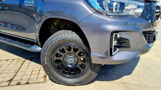 2018 Toyota Hilux GUN126R SR5 Double Cab Graphite Grey 6 Speed Sports Automatic Utility.