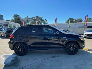 2019 Mitsubishi ASX XC MY19 Black Edition 2WD Black 1 Speed Constant Variable Wagon.