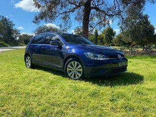 2017 Volkswagen Golf 7.5 MY17 110TSI Blue 6 Speed Manual Hatchback.