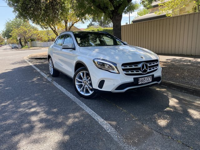 Pre-Owned Mercedes-Benz GLA-Class X156 809+059MY GLA180 DCT Hawthorn, 2019 Mercedes-Benz GLA-Class X156 809+059MY GLA180 DCT White 7 Speed Sports Automatic Dual Clutch
