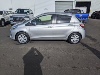 2017 Toyota Yaris NCP131R SX Silver 4 Speed Automatic Hatchback
