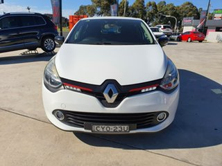 2015 Renault Clio IV B98 Expression EDC White 6 Speed Sports Automatic Dual Clutch Hatchback