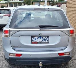 2012 Mitsubishi Outlander ZJ MY13 ES 2WD Silver 6 Speed Constant Variable Wagon