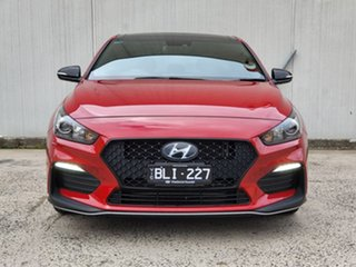 2020 Hyundai i30 PD.V4 MY21 N Line D-CT Premium Red 7 Speed Sports Automatic Dual Clutch Hatchback
