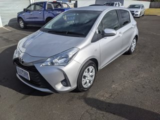2017 Toyota Yaris NCP131R SX Silver 4 Speed Automatic Hatchback.