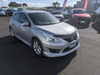 2016 Nissan Pulsar C12 Series 2 SSS Silver 1 Speed Constant Variable Hatchback.