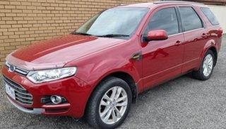 2013 Ford Territory SZ TS Seq Sport Shift Red 6 Speed Sports Automatic Wagon.