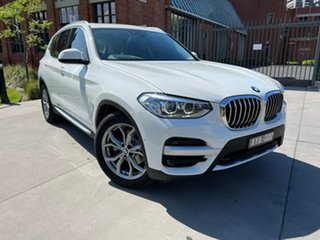 2019 BMW X3 G01 sDrive20i Steptronic White 8 Speed Automatic Wagon.