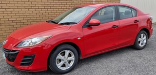 2009 Mazda 3 BL10F1 Neo Red 6 Speed Manual Sedan.