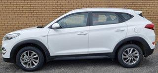 2018 Hyundai Tucson TL2 MY18 Elite AWD White 6 Speed Sports Automatic Wagon.