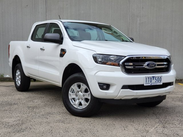 Used Ford Ranger PX MkIII 2021.25MY XLS Oakleigh, 2020 Ford Ranger PX MkIII 2021.25MY XLS White 6 Speed Sports Automatic Double Cab Pick Up