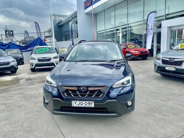 Demo Subaru XV G5X MY21 2.0i-S Lineartronic AWD Liverpool, 2021 Subaru XV G5X MY21 2.0i-S Lineartronic AWD Dark Blue 7 Speed Constant Variable Wagon