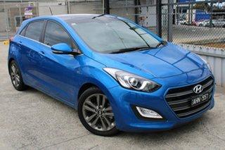 2016 Hyundai i30 GD3 Series II MY17 SR Premium Blue 6 Speed Sports Automatic Hatchback.