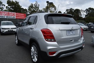 2016 Holden Trax TJ MY17 LTZ Silver Or Chrome /bl 6 Speed Automatic Wagon.