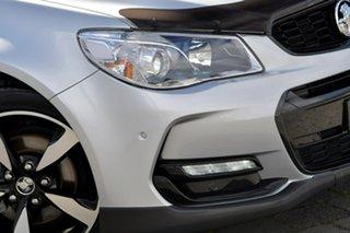 2016 Holden Commodore VF II MY16 SV6 Sportwagon Black Silver, Chrome 6 Speed Sports Automatic Wagon