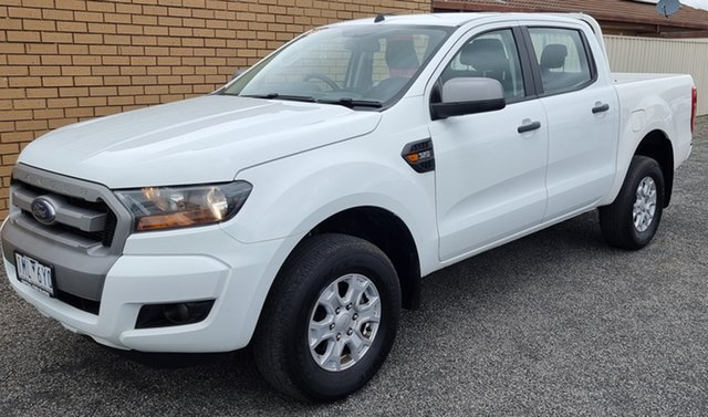 Used Ford Ranger PX MkII 2018.00MY XLS Double Cab Horsham, 2017 Ford Ranger PX MkII 2018.00MY XLS Double Cab White 6 Speed Sports Automatic Utility