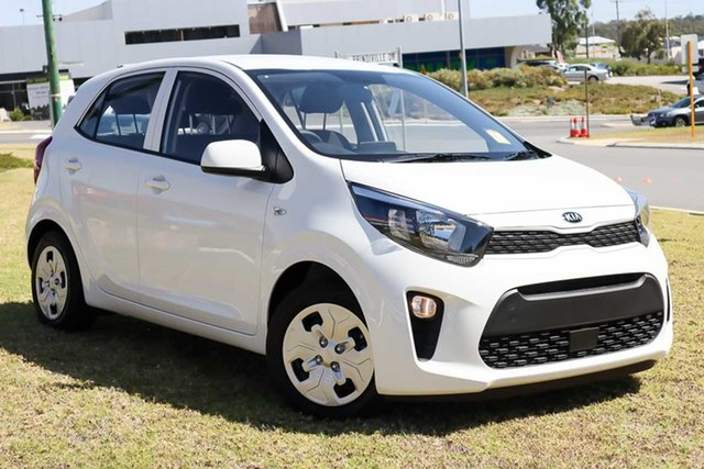 Demo Kia Picanto JA MY22 S Wangara, 2021 Kia Picanto JA MY22 S Clear White 5 Speed Manual Hatchback