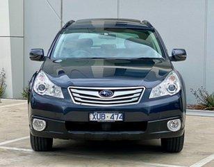 2010 Subaru Outback B5A MY10 2.5i AWD Premium Grey 6 Speed Manual Wagon.