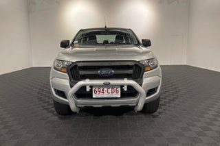 2018 Ford Ranger PX MkII 2018.00MY XL Hi-Rider Silver 6 speed Automatic Utility.