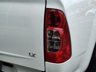 2008 Holden Rodeo RA MY08 LX Crew Cab 4x2 Alpine White 5 Speed Manual Utility