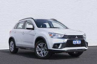 2018 Mitsubishi ASX XC MY19 ES 2WD White 1 Speed Constant Variable Wagon.