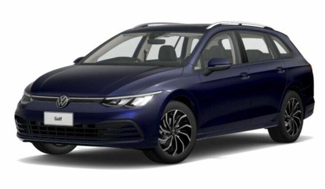 New Volkswagen Golf 8 MY21 110TSI Life Port Melbourne, 2021 Volkswagen Golf 8 MY21 110TSI Life Blue 8 Speed Sports Automatic Wagon