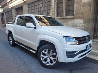 2017 Volkswagen Amarok 2H MY17 TDI550 4MOTION Perm Ultimate White 8 Speed Automatic Utility.