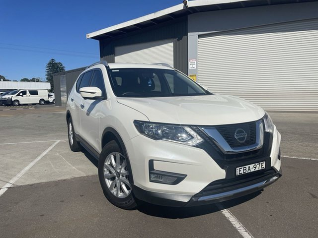 Pre-Owned Nissan X-Trail T32 Series II ST-L X-tronic 2WD Cardiff, 2018 Nissan X-Trail T32 Series II ST-L X-tronic 2WD White 7 Speed Constant Variable Wagon